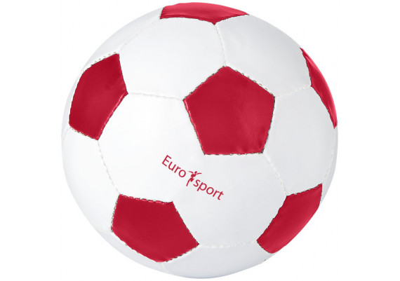 Ballon de football personnalisable argenté