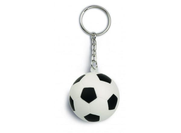 Porte-clé ballon de foot publicitaire