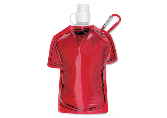 Gourde pliable en forme de T Shirt