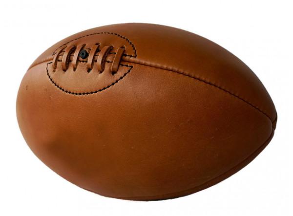 Ballon rugby personnalis ballon publicitaire vintage imitation cuir - Ballon de rugby cuir ...