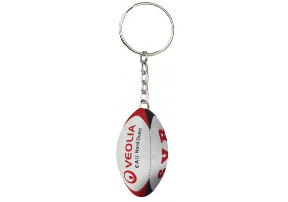 Porte-clé rugby personnalisé picot