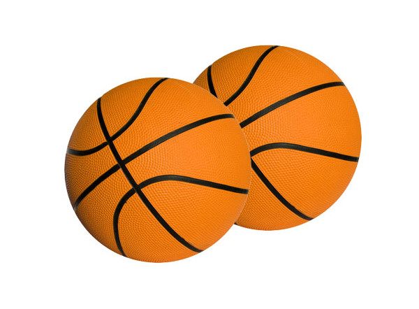 Mini ballon de basket personnalisé
