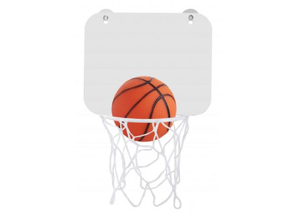 Panier et ballon de basketball publicitaire
