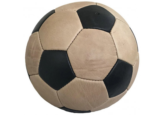 Ballon de foot cuir