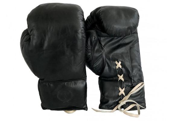 Gants de boxe cuir noir