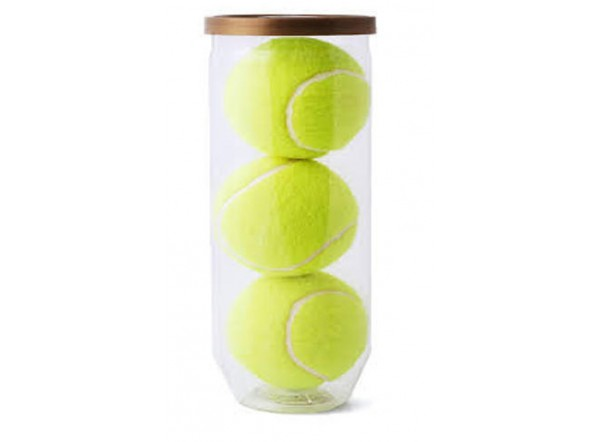 Lot balles de tennis personnalisé - Qualité promotionnelle