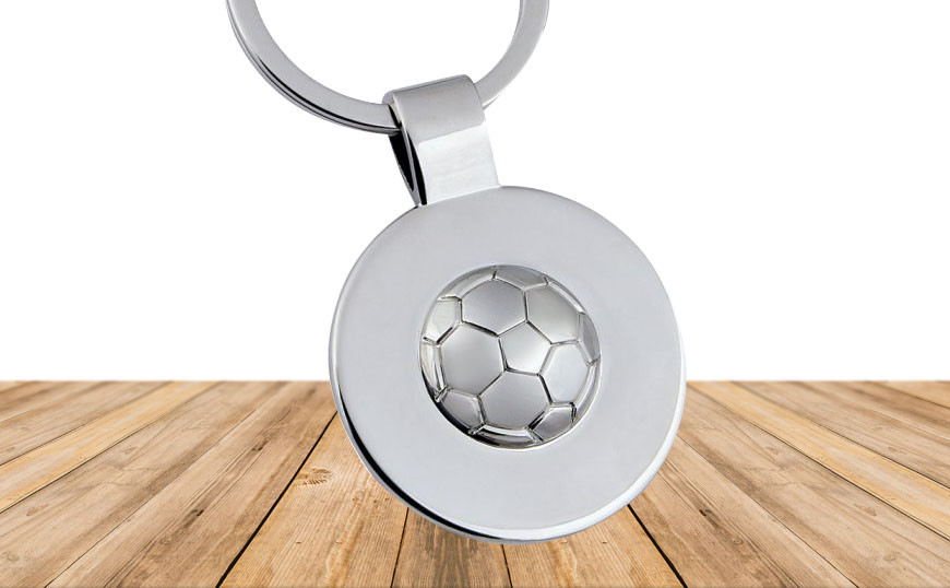 Porte-clé football