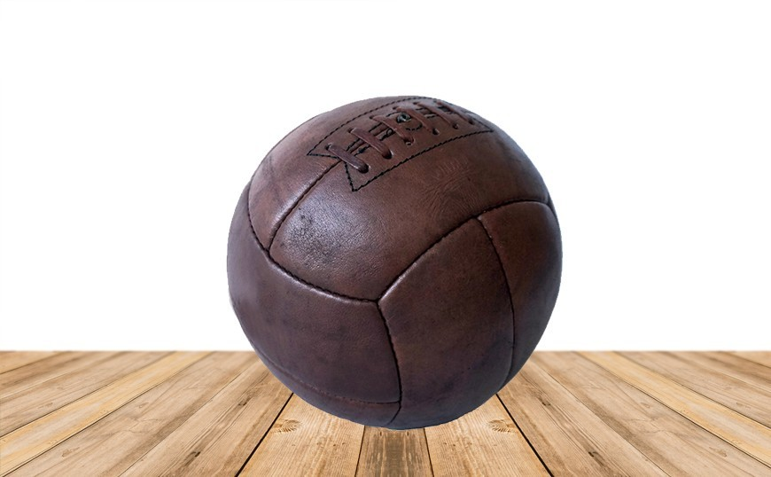 Ballon de football old school