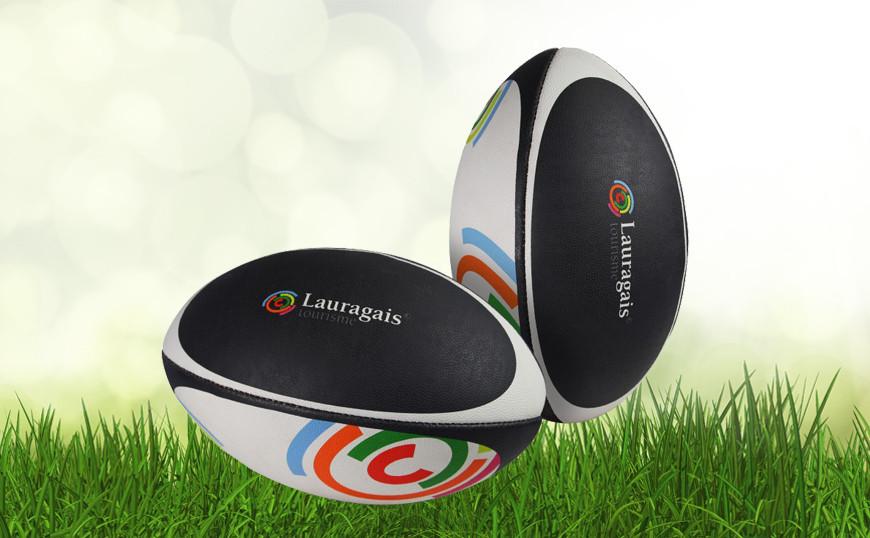 ballon de rugby publicitaire cuir synth tique pour une image l gante ballons publicitaires. Black Bedroom Furniture Sets. Home Design Ideas