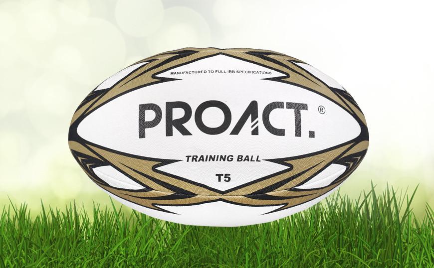 Ballon de rugby rubber picot