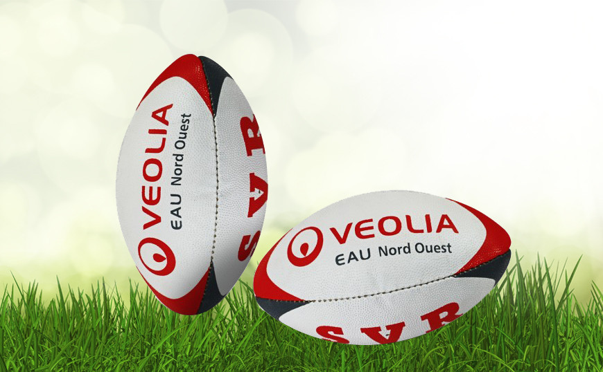 Mini ballon de rugby rubber picot